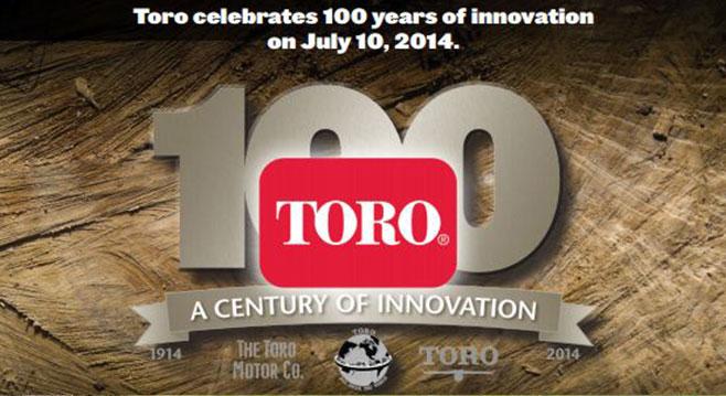 THE TORO COMPANY FESTEJA 100 AÑOS DE VIDA